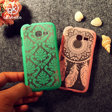 Akabeila Cases Covers For Samsung Galaxy Star Plus Pro S7262 S7260 GT-S7262 I679 Cover Palace Paper Cut Dreamcatcher Case(China)
