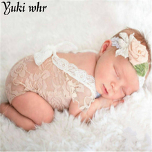 2017 New Baby Design Open Back Lace Romper Newborn Mameluco Lace Support The Vintage Photography Monkey Baby Clothes Summer(China)