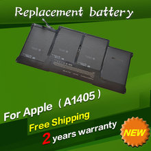 "JIGU Special Price Replacement Battery A1405 For MacBook Air 13"" A1369 year 2011 & A1466, package with gift screwdrivers"