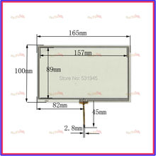 New 7inch TOUCH Screen panels 165mm*100mm for GPS  165*100  Freeshipping used clarion GPS CAR 068063