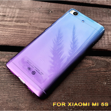 Ultra Thin Slim gradient Clear Transparent Soft TPU For xiaomi 5s m5s mi5s mi 5s Cell Phone Back Cover Case for xiaomi 5s 5 S