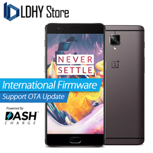 "Original new Oneplus 3T 4G LTE Mobile Phone Smart Phone Snapdragon 821 Quad Core 6GB+64GB/128GB 1920*1080p 5.5"" Android 6.0 16MP"