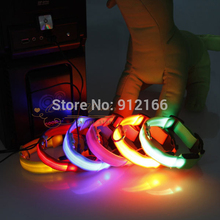Rechargeable USB Dog Collar Flashing LED Pet Collar Glowing Puppy Cat Necklace Ring Accessories for Dog
