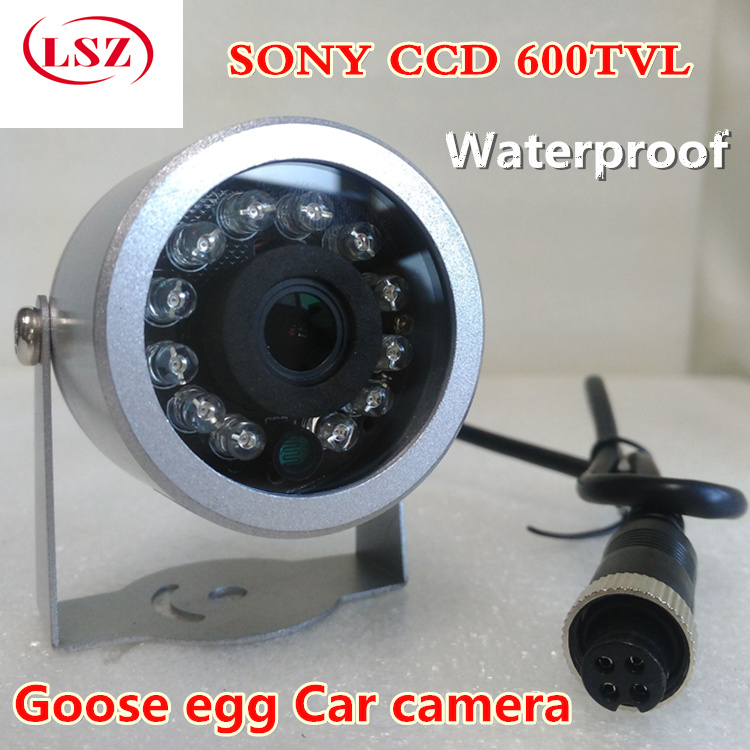 Infrared high-definition car camera  air cable connector  female head  anti shock type CCD car camera  reverse image<br>