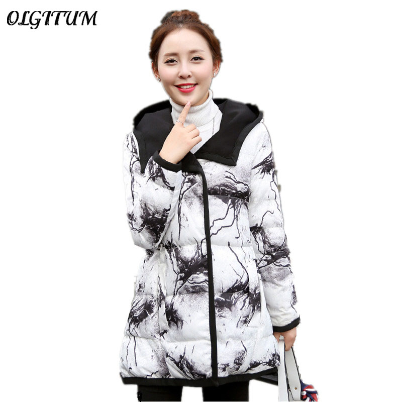 Winter Coat 2017 new style thicker long paragraph cotton clothing soft warm  female hooded Korean jacket double use waterproofÎäåæäà è àêñåññóàðû<br><br>