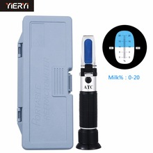 yieryi New Health Product Milk Concentration of 0 to 20 Handheld Milk Refractometer incl the retail box(China)