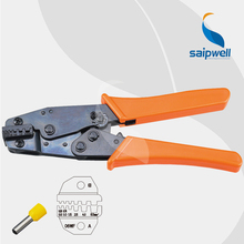 0.25~6mm 24-10AWG Ratchet Connector Crimping Plier / European Style Specialized Multi Crimp Tool (SP-06WFL)(China)