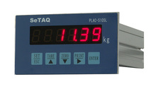 Aluminium weighing indicator for lift truck scales load cells A/D LED display 6-digit 5 keys, RS232 RS485 Modbus Analog 10V 20mA