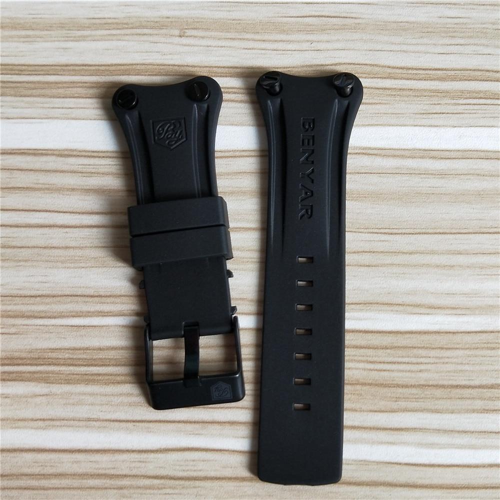 Benyar-Bracelets-bracelet-22mm-Universel-Bracelet-En-Cuir-Bracelet-bracelet-En-Silicone-Bracelets-Montres