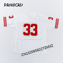 Retro star #33 Roger Craig Embroidered Throwback Football Jersey(China)