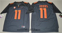Free shipping 2017-2018 Nike New Arrival Tennessee Volunteers Joshua Dobbs 11 College Sweatshirts(China)