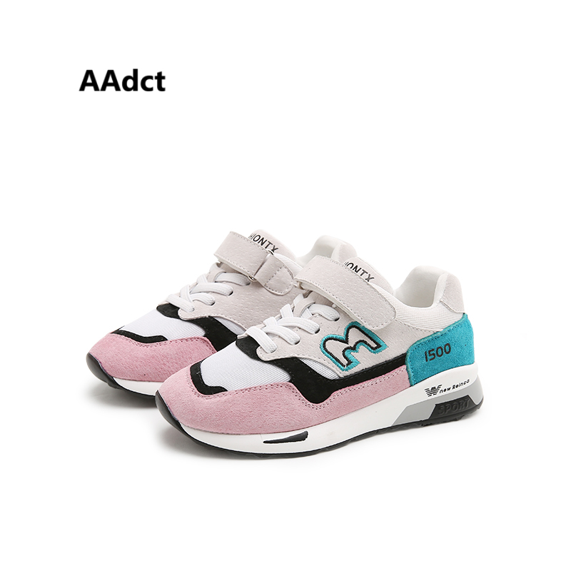 AAdct running sports girls shoes 2017 fashion new kids shoes for girls Brand High quality children shoes sneakers <br>