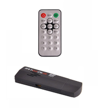 New venda de alta qualidade 1 conjunto RTL2832U + R820T DVB-T SDR + DAB + FM USB 2.0 Dongle vara Digital TV Tuner Receiver