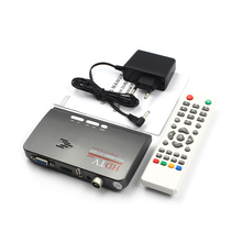 Jninsens 1080P HDTV DVB-T/ DVB-T2 TV Set-top Box Digital Terrestrial HDTV Tuner Receiver HDMI/VGA/AV for LCD/CRT PC Monitor