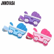 2PC Girls Shopping Cart Hair Clips Hair Accessories Girls Hair Clips Kids Hairpins Children Barrette For Child(China)