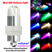 48pcs Mini LED Balloons Lights supplier/LED Bulbs Waterproof Decoration for Party/Wedding/Christmas Mixed color With Battery