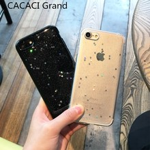 Buy Bling Bling case iphone 7 8 plus luxury Glitter Stars Cases soft silicone cover iphone x 10 6s 6 plus glossy funda etui for $1.76 in AliExpress store