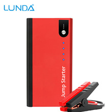 LUNDA 12V Car Jump Starter best Quality Portable Mini Booster Power Bank Mobile Phone Car Emergency Auto Battery Boost Charger