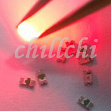 Bulk sale Super bright LED lamp 0603 billion light red SMD LED LED 1608(China)