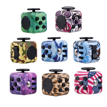 Cool!!!2017 New Arrival Camouflage Fidget Cube Anti Stress Decompression Toys Children Adult Fashion Gifts