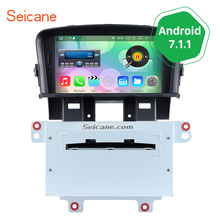 Seicane Android 7.1.1 GPS Navigation for 2008-2011 2012 Holden Chevy Chevrolet Cruze with Bluetooth Mirror Link WiFi DVD player(China)