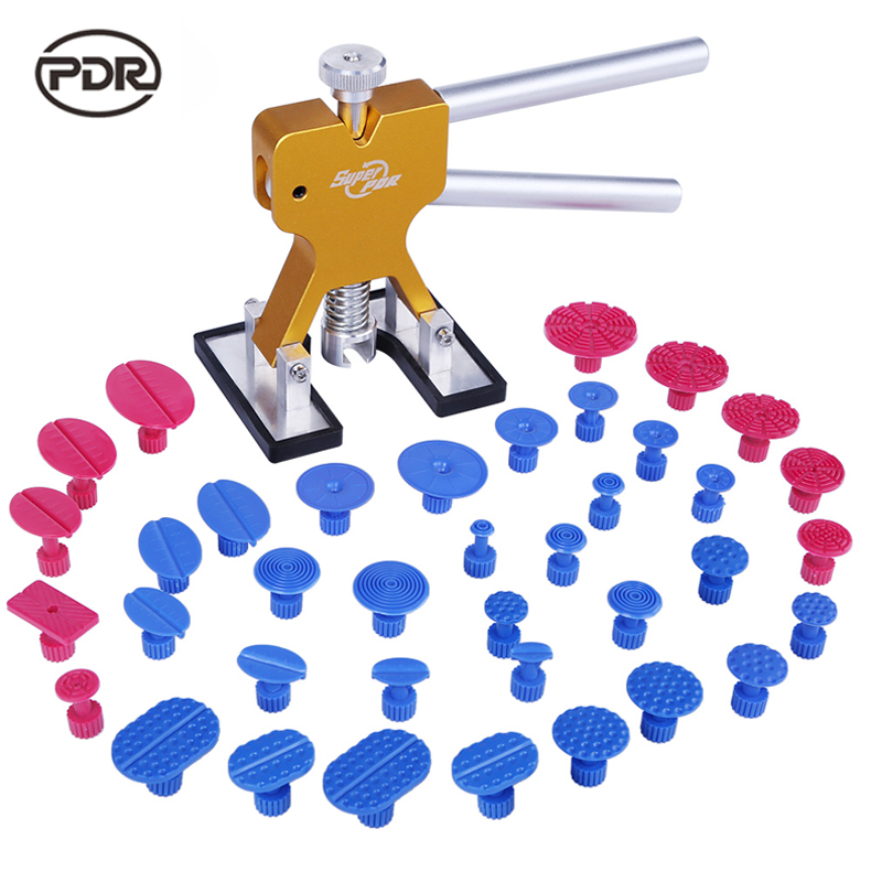 PDR Tools Dent Removal Paintless Dent Repair Tools Hail Damage Repair Hand Tools Set PDR Toolkit Herramentas<br>