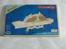 Simulation assembled wooden ship models  Handmade wooden puzzle  DIY wood assembled ship  3d model toy yacht