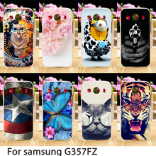 Soft Phone Cases For Samsung Galaxy Ace 4 LTE G357FZ Ace 4 Style LTE G357 SM-G357FZ Case Hard Back Cover Skin Housing Sheath Bag