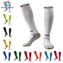 1 Pair of Children Thick Cotton Footbed Knee Compression Soft Football Socks Wonderful length High Socks Loom Sock