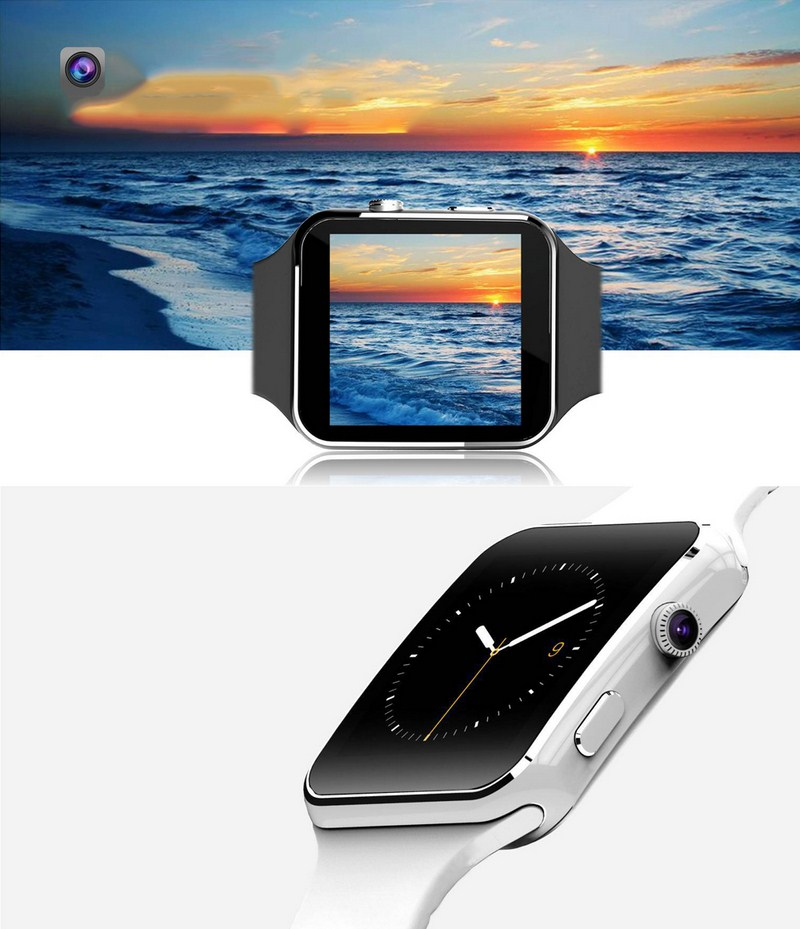 1.54 IPS Bluetooth Smart Watch Phone X6 Smartwatch Sport Watch With HD Camera Support SIM TF Card For iPhone Android Phone <br><br>Aliexpress