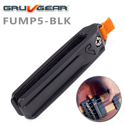 Gruv Gear Fump 4-/5-string Clip-on String Mute for Electric Bass Guitar<br>