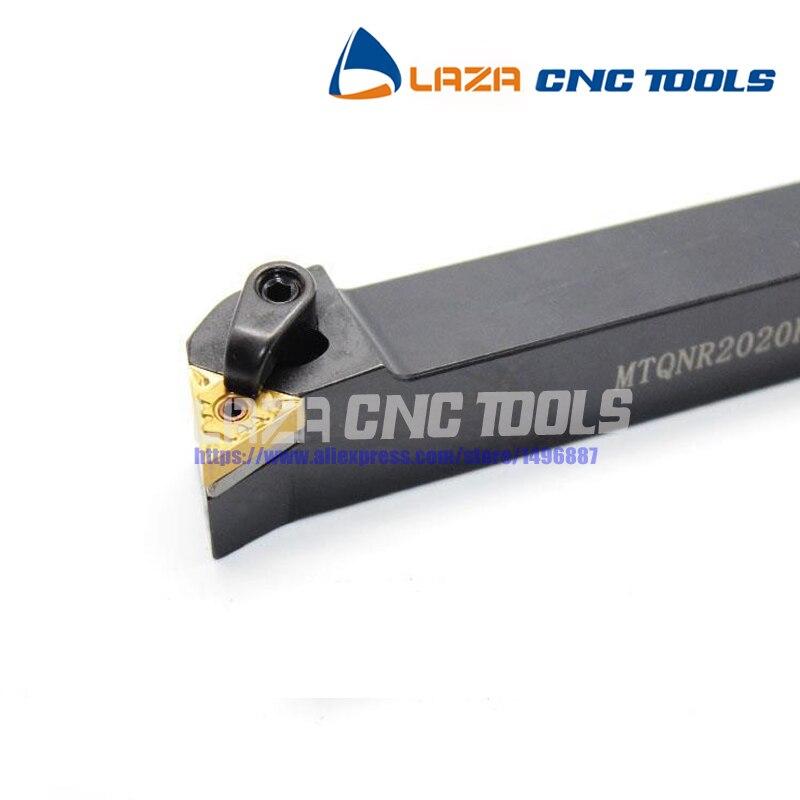 1P 105° MTQNL2020K16 CNC Lathe Turning Tool Holder For TN*1604**insert