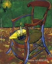 Vincent Van Gogh paintings of Gauguins Chair modern art still life High quality Hand painted(China)