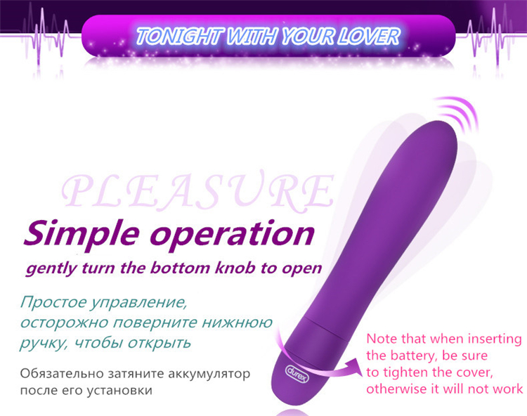 Durex High Quality Erotic Sex Toys For Women G-spot Vibes Multi Speeds Vibrating Body Massager Bullet Vibrators Sex Products 6