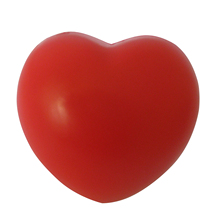 Heart Stress Reliever Ball Red(China)