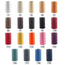 Hot Sale 19 Colors Durable 260m 1mm 150D Leather Waxed Thread Cord for DIY Handicraft Tool Hand Stitching Thread