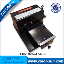6 Colors A3 Size LED UV Printer Flatbed Printer on High Quality
