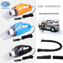 12V 120W Mini Handheld Vacuum Cleaner 4000PA Super Suction Dust In-Car Portable Wet & Dry For Car Home Office