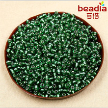 Multi-colored 40g/lot 4mm DIY Czech Glass Seed Beads with Silver Lining Loose Spacer Beads for Jewelry Making