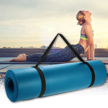 183x61x1cmThick Exercise Yoga Mat Pad Non-Slip Lose Weight Exercise Fitness Folding Gymnastics Mat for Fitness