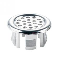 New High Quality Generic Bathroom Basin Sink Overflow Round Ring Chrome Trim ceramic pots Overflow ring Replacement Decoration