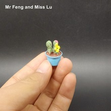 Flowerpot Models Lovely Tiny Micro Toy Kid Gift