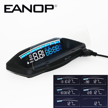 Security-Alarm-System Mirror Projector Obd2-Scanner-Tool HUD Head-Up display EANOP Overspeed