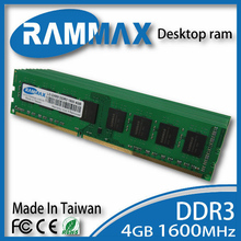 LO-DIMM 1600Mhz Desktop Ram 1x4GB Memory DDR3 PC3-12800 240-pin/ CL11 high compatible to all brand motherboard for PC Computer