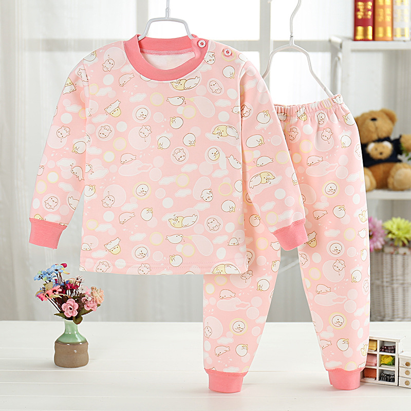 Free shipping New Cartoon Boys Girls Clothes warm cotton Babys Sets WY503-WY523<br>
