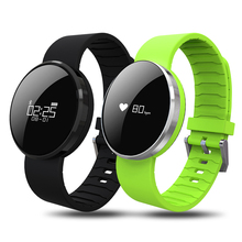 New UW1S Smart Bracelet Dynamic Heart Rate Monitor Call Message reminder band Blood pressure detect Translucent mirror Wristband