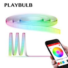 PLAYBULB Comet 2M 6.6ft Rope Flexible LED Light Strip Lamp Kit RGB Color Changing Christmas Lights Indoor Outdoor Decorations(China)