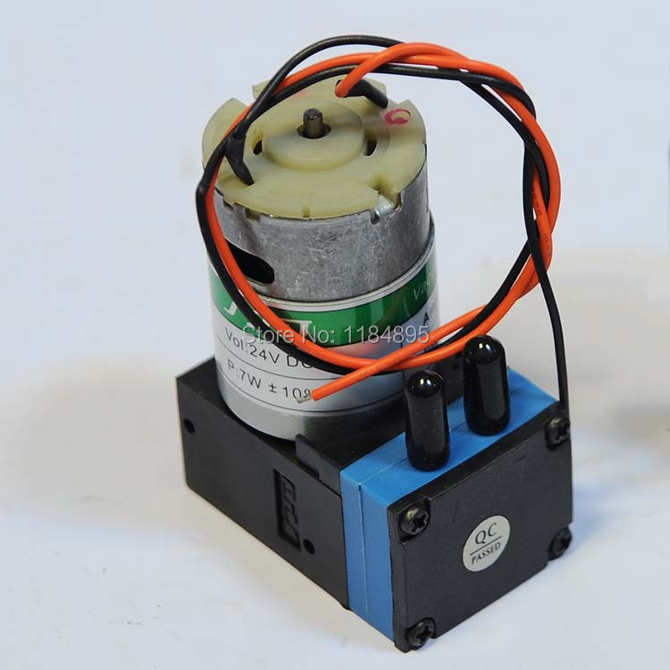 Genuine New !! Air Pump Micro Vacuum Pump 24V DC  80-110kpa  10W<br><br>Aliexpress
