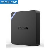 T95N Android 6.0 TV BOX Amlogic S905x Quad-Core cortex-A53 Set Top Box 2G/8G WIFI Networking Android Tv box DLAN 4K Media Player(China)