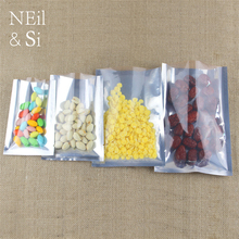 Plastic Vacuum Bag Clear Airless Coffee Powder Red Beans Dried Snack Food Packaging Hot Sealing Bags Free Shipping